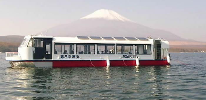 山中湖わかさぎ釣りドーム船 しゅうすいやボートハウス